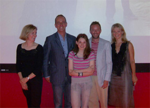 Georgina and the Grand Designs Team
