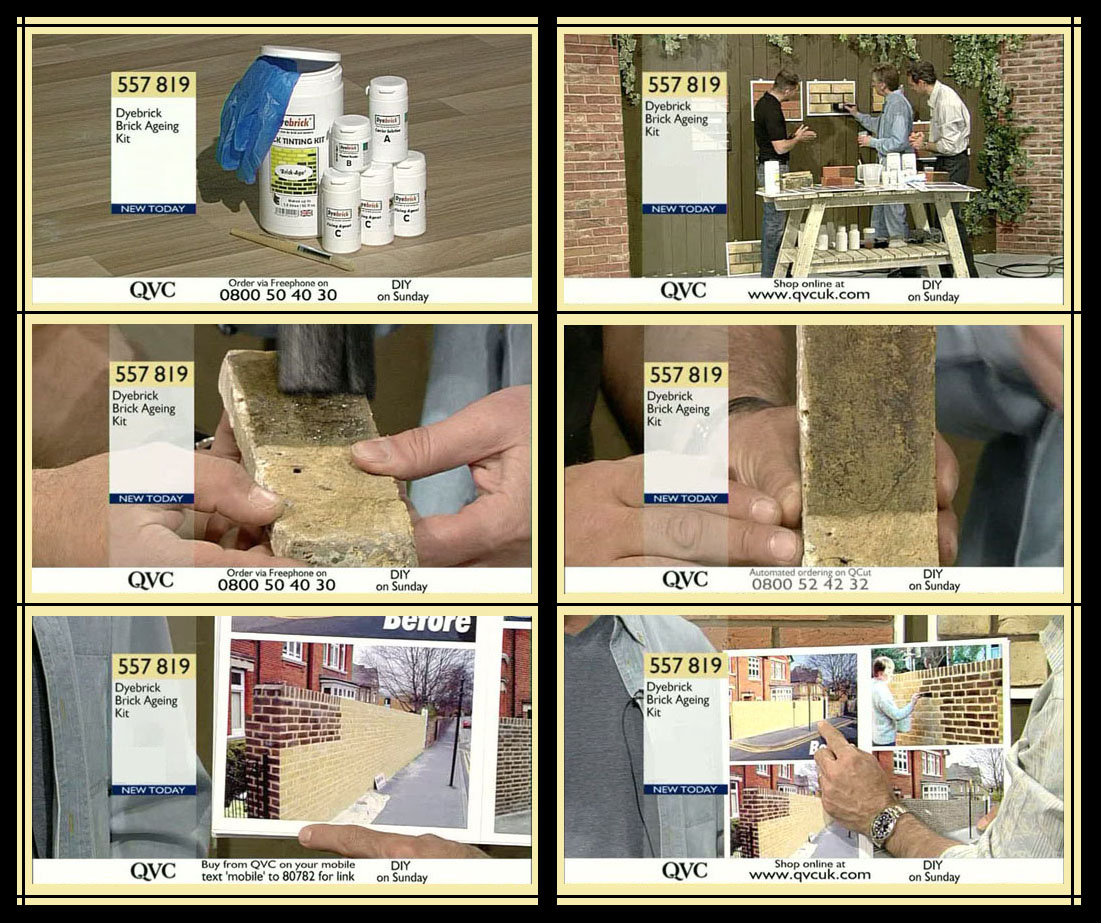 Brick Age on QVC