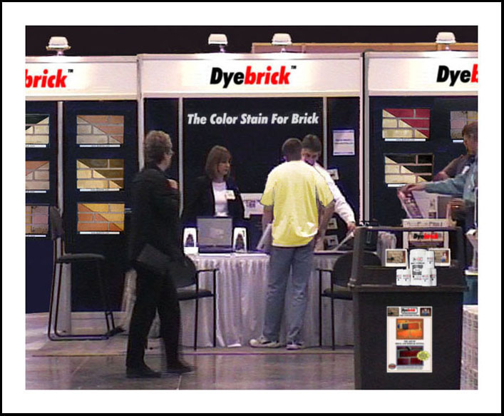 Dyebrick at the Columbia Home Building and Remodeling Expo 2009