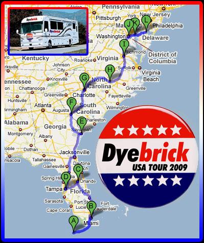 Dyetour 2009 The Carolinas