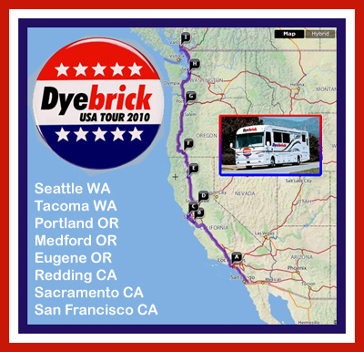 Dyebrick US Tour 4: 'West Coast' confirmed