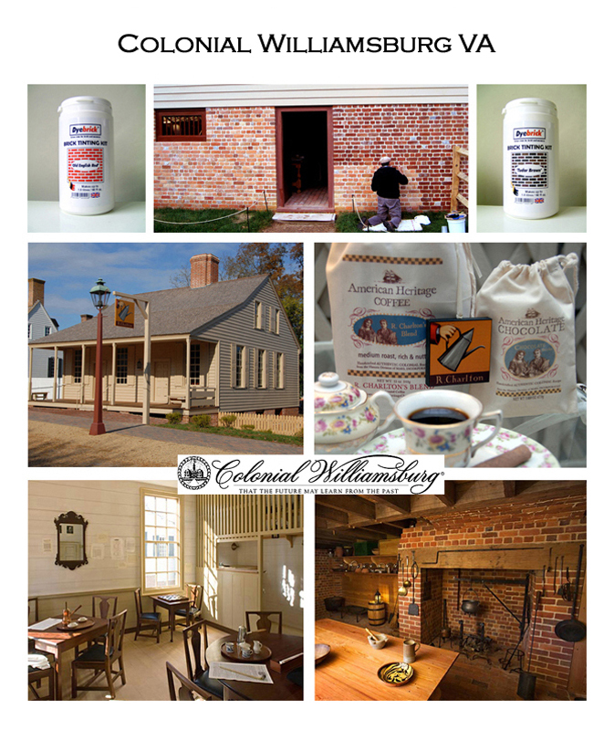 Brick Tinting Williamsburg VA