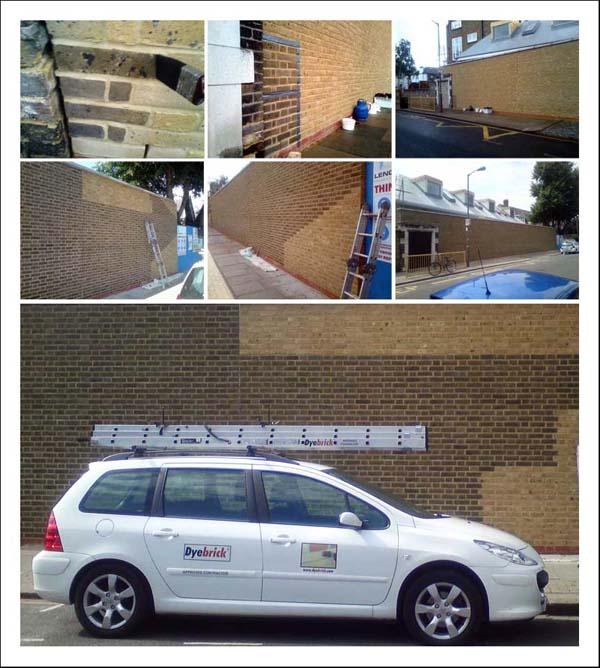 Hotham School Wall Soot Wash