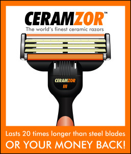 Ceramzor the Ceramic Razor!