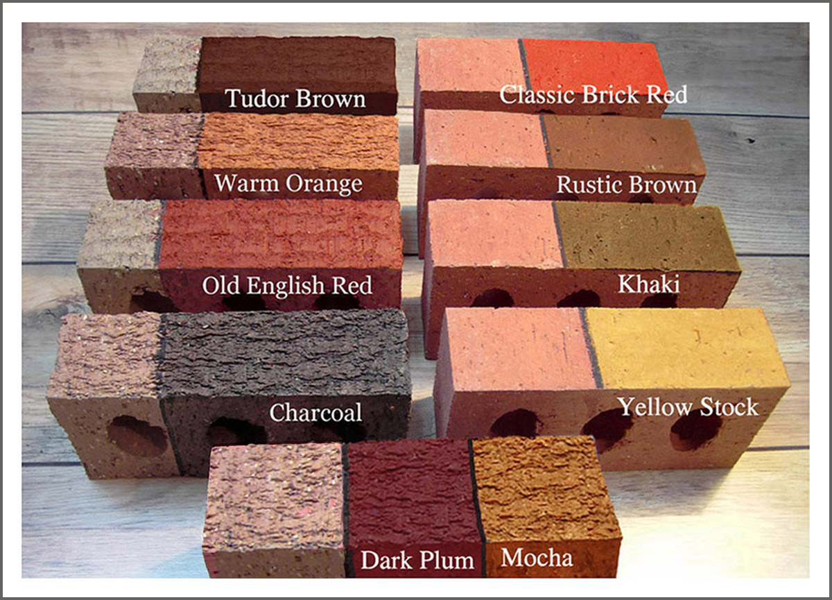 brick stain and masonry staining from dyebrick brick coloring the. Black Bedroom Furniture Sets. Home Design Ideas