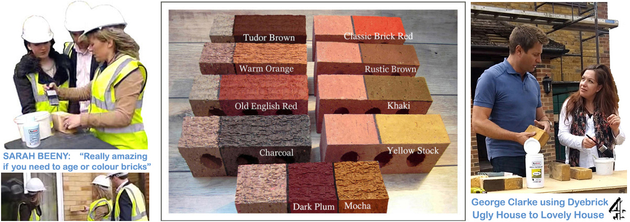 Brick stain and masonry staining from Dyebrick, brick coloring - The ...