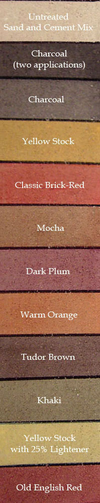 Colour panels dyebrick - How to change the color of brick exterior ...