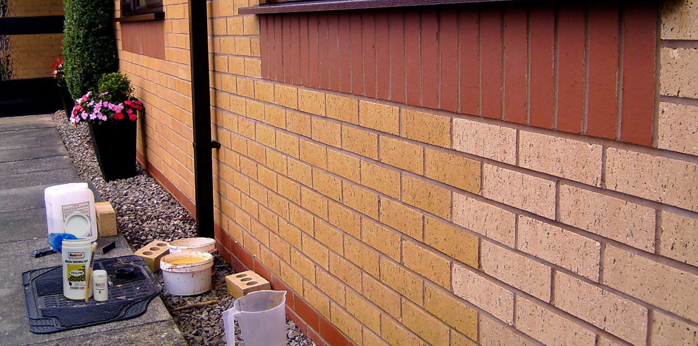 Brick stain from Dyebrick - The Color Stain For Brick - Dyebrick