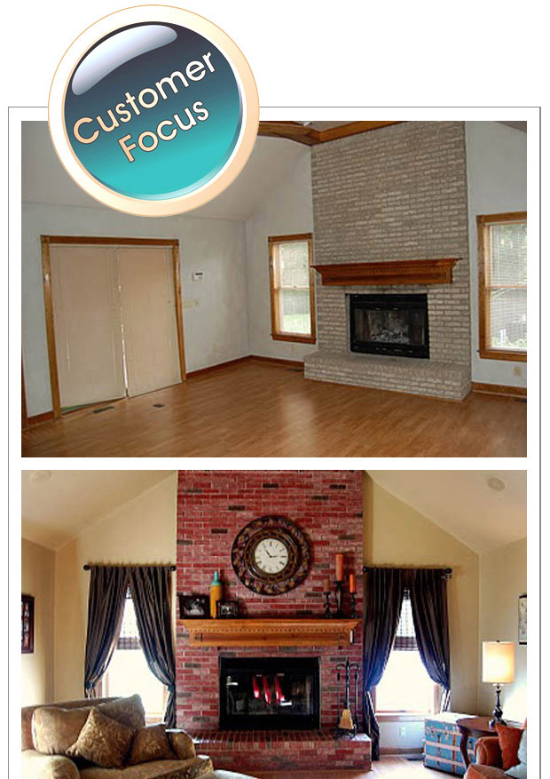 Jodi's Fireplace Transformation